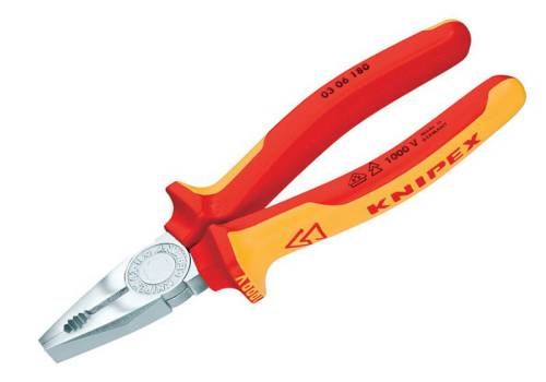 Knipex Combination Pliers 200mm VDE 03 06 200