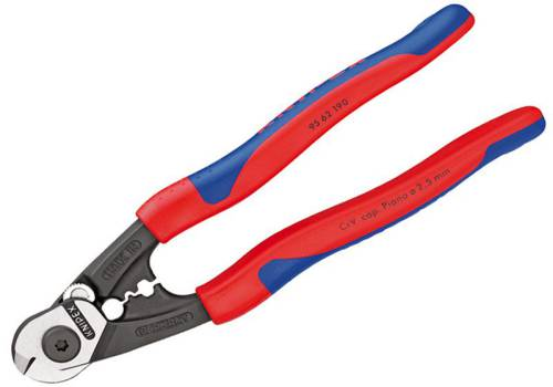 Knipex Wire Rope / Bowden Cable Cutter 190mm