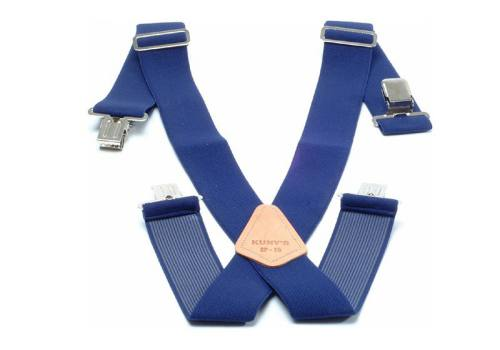 Kunys SP15N Navy Braces 2in Wide