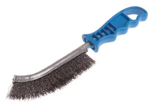 Lessmann Universal Hand Brush - Steel Crimped