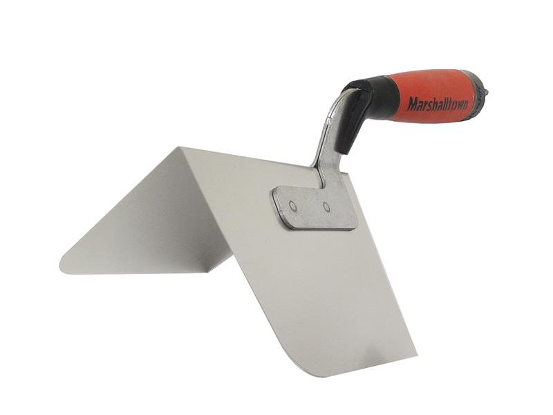 Marshalltown M25RD Curved Outside Corner Trowel DuraSoft? Handle 5in M25RD