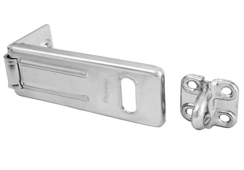 Master Lock Wrought Steel Hasp 89mm