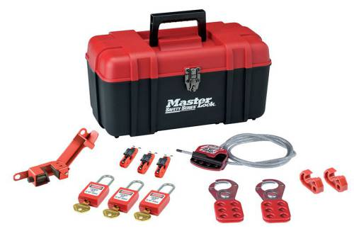 MasterLock Lockout Toolbox 12 Piece  Kit- Electrical