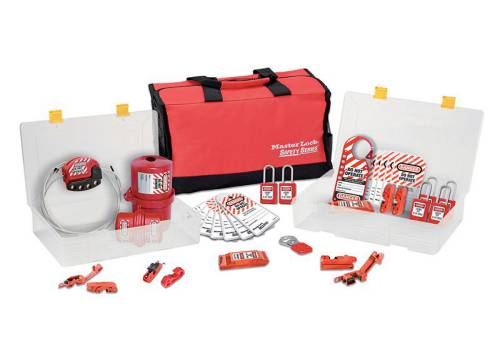 MasterLock Lockout / Tagout Electrical Group 23 Piece Kit with S31 Padlocks