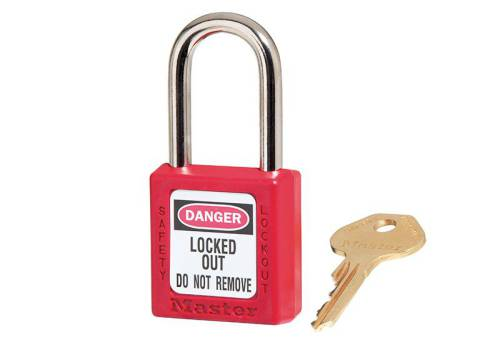 MasterLock Lockout Padlock - Red 38mm