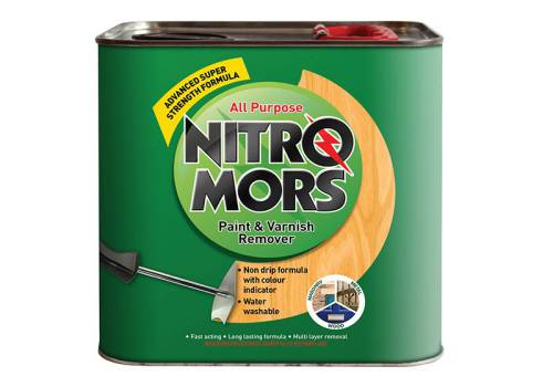 Nitromor New All Purpose Paint & Varnish Remover 2 litre