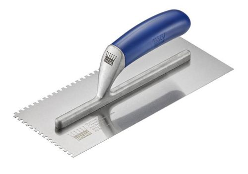 Ragni R319-4 Tiler's Trowel U 4mm Notches Edge Plastic Handle 11 x 4.3/4in R319-4
