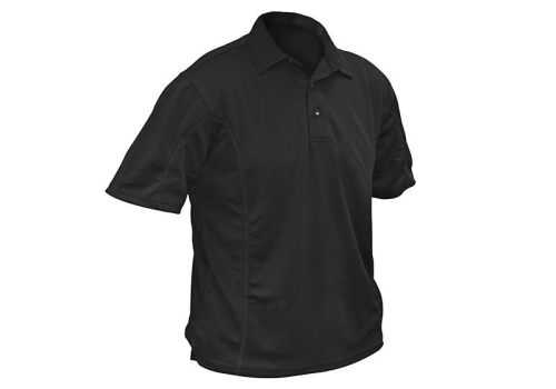 Roughneck Clothing Quick Dry Polo Shirt Black Large
