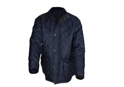 Roughneck Clothing Blue Quilted Jacket - M