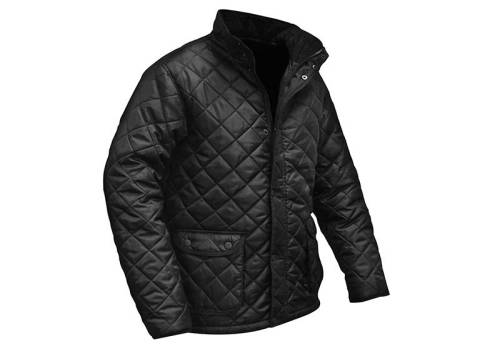 Roughneck Clothing Black Quilted Jacket Medium