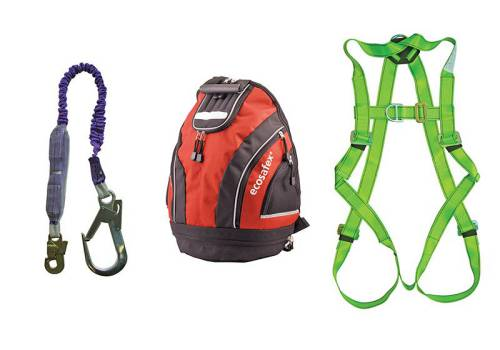 Scan Fall Arrest Scaffolders Kit in Rucksack