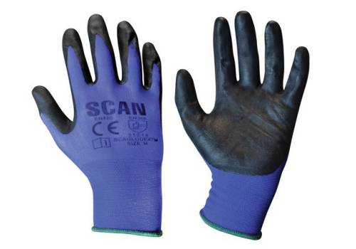 Scan Max. Dexterity Nitrile Gloves - Medium (Size 8) N550118