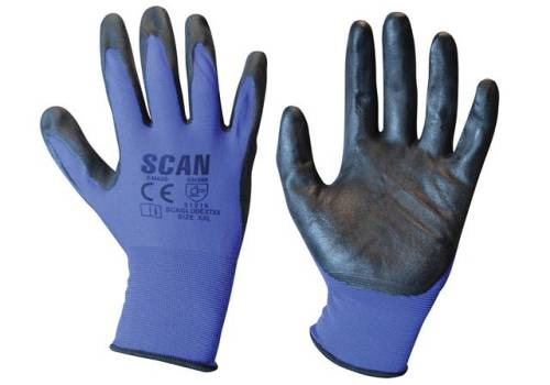 Scan Max. Dexterity Nitrile Gloves - Extra Extra Large (Size 11) N550118