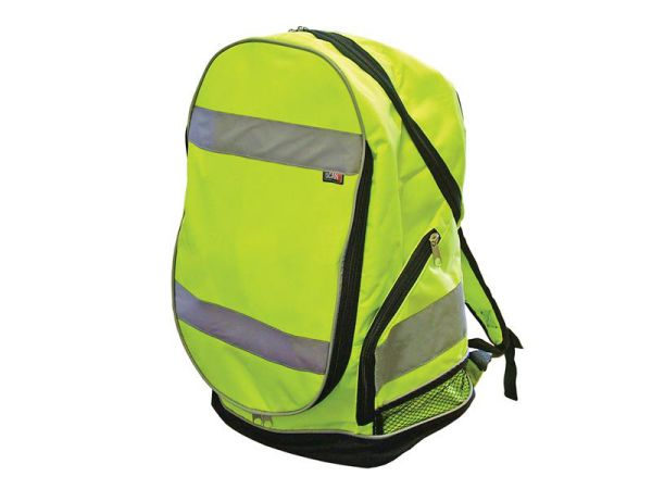 Scan Hi-Visibility Back Pack - Yellow
