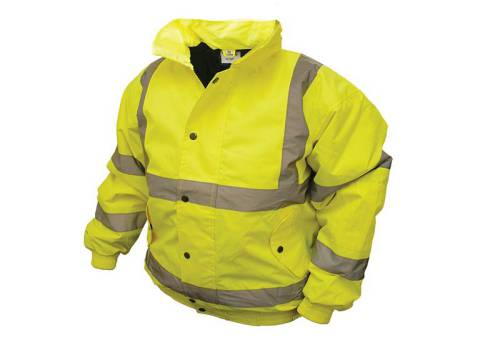 Scan Hi-Vis Bomber Jacket Yellow - Extra Extra Large