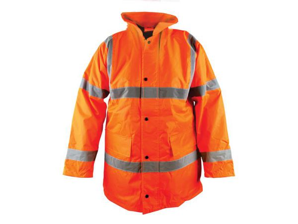 Scan Hi-Vis Bomber Jacket Orange - XL (46-48in)