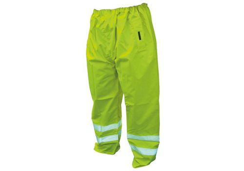 Scan Hi-Vis Motorway Trouser Yellow - Large
