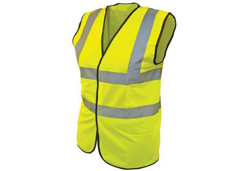 Scan Hi-Vis Waistcoat Yellow - Extra Extra Extra Large
