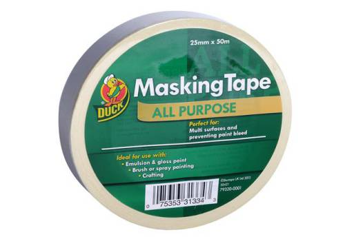 Shurtape Duck Trade All Purpose Masking Tape 25mm x 50m