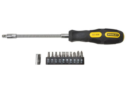 Stanley 10 Way Flexi Screwdriver Set 0-62-508