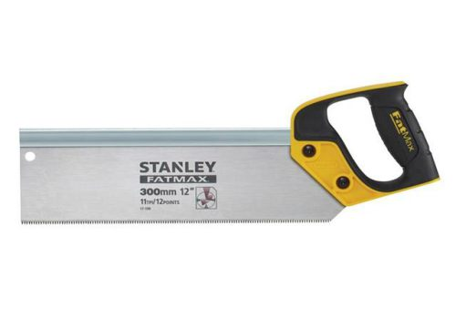 Stanley Tools FatMax Tenon Back Saw 300mm (12in) 11tpi 2-17-199