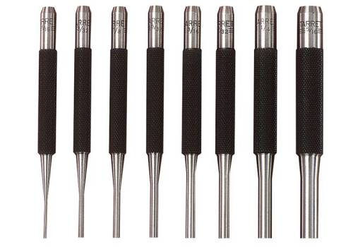 Starrett S565PC Pin Punch Set 8pc