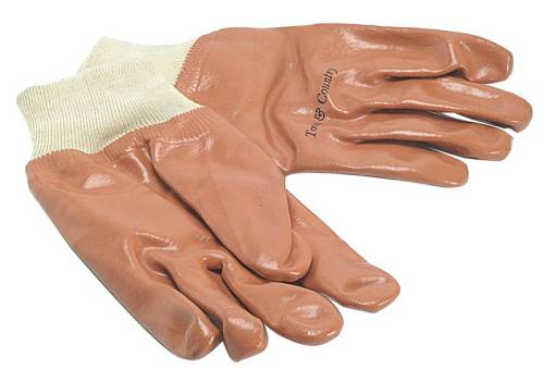 Town & Country TGL402 Mens PVC Knit Wrist Gloves