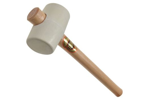 Thor 954W White Rubber Mallet 3 In
