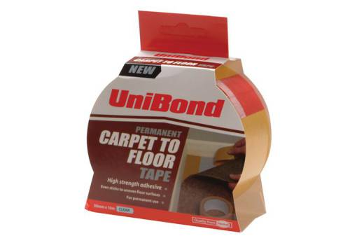 Unibond Carpet Tape Permanent 50 mm x 10m