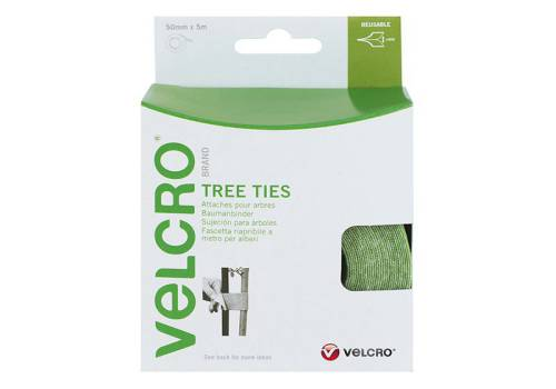Velcro Adjustable Velcro Tree Ties 50mm x 5m Green