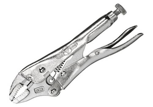 Vise-grip Irwin Curved Jaw Locking Plier with Wire Cutter  5in