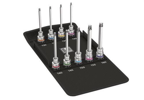 Bahco BAH2058S26-2058//S26 Cliquet Socket Bit Set of 26 Metric 1//4in Drive