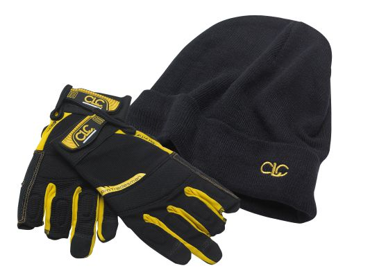 CLC Framer's Flexigrip Hi-Dexterity Gloves & Beanie Hat