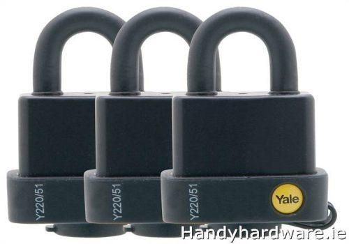 Master Lock MLK7620 Aluminium 20mm 3-Digit Combination Padlock