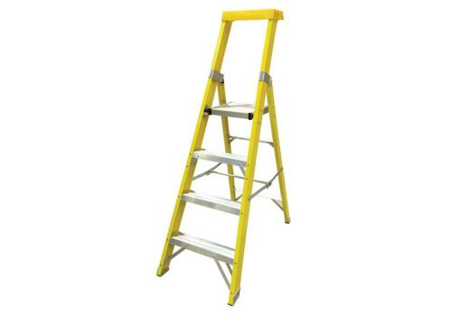 Zarges GRP Platform Steps Platform Height 1.09m 4 Rungs 300804