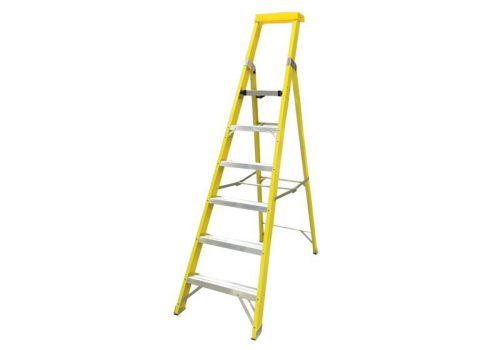 Zarges GRP Platform Steps Platform Height 1.65m 6 Rungs 300806
