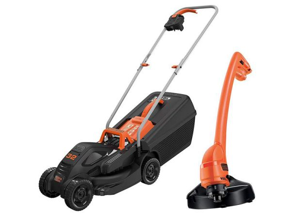 Black & Decker bemw351Gl2 Rotary Mower & Gl250 Strimmer BEMW351GL2-GB