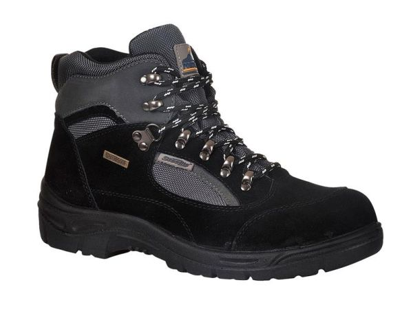 Portwest FW66 Black Steelite All Weather Hiker Boots 42 (UK 8) FW66BKR42
