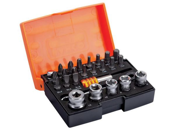 Bahco Socket Ratchet And Bit Set 2058/S26-2