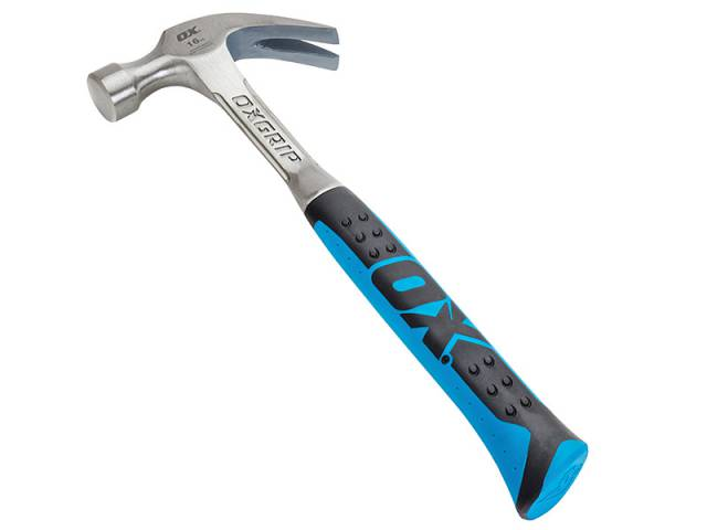 Ox Tools Pro Claw Hammer 450g (16oz) OX-P080116