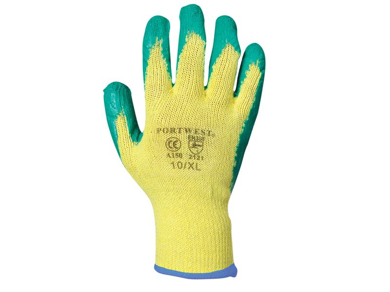 Portwest A150 Green Fortis Grip Gloves - Extra Large (Size 10) A150GNRXL