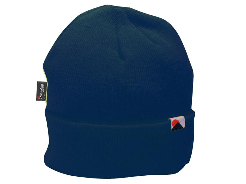 Portwest B013 Insulatex Lined Knit Hat - Navy B013NAR