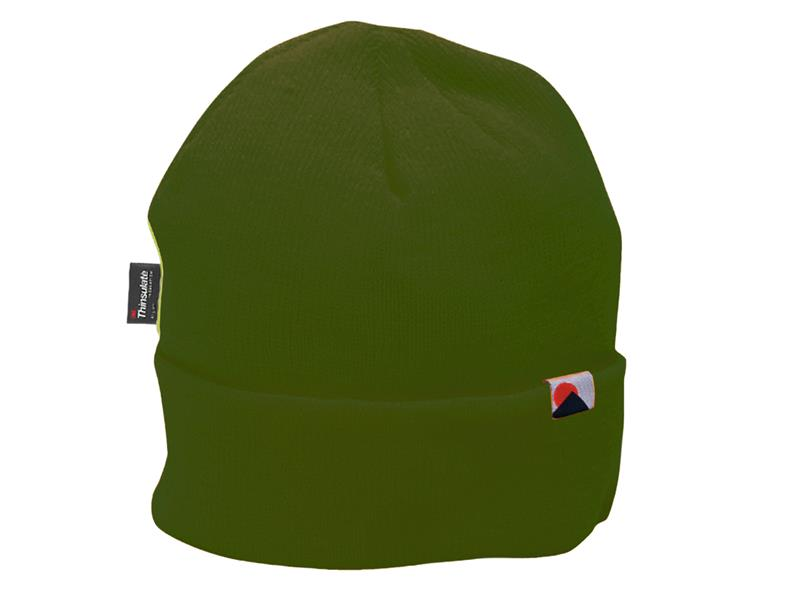 Portwest B013 Insulatex Lined Knit Hat - Olive Green B013OGR