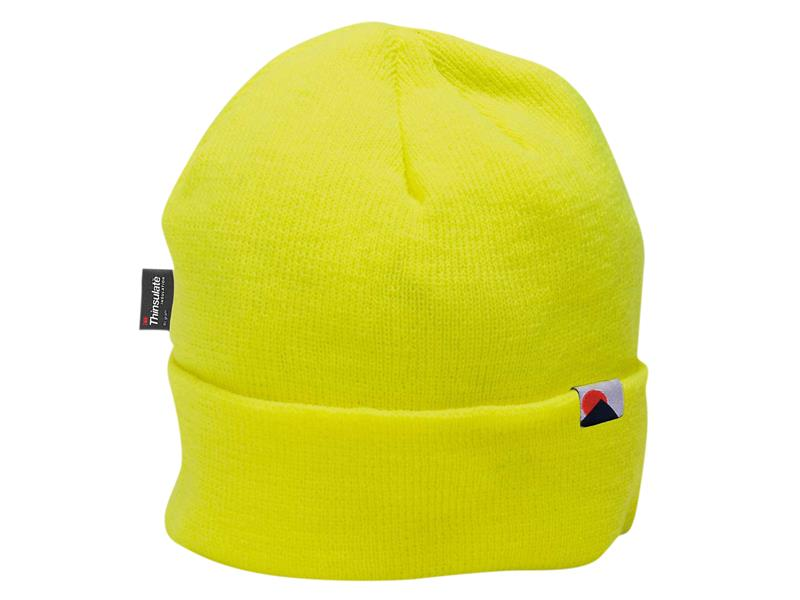 Portwest B013 Insulatex Lined Knit Hat - Yellow B013YER
