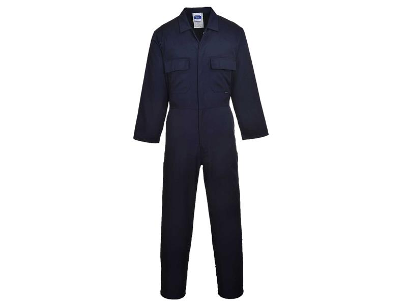 Portwest S999 Navy Euro Work Coverall - M S999NARM