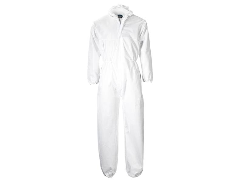 Portwest ST11 White Polypropylene Coverall 40G - XL ST11WHRXL