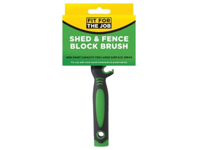 Rodo Ffj Shed & Fence Block Brush FBBB003