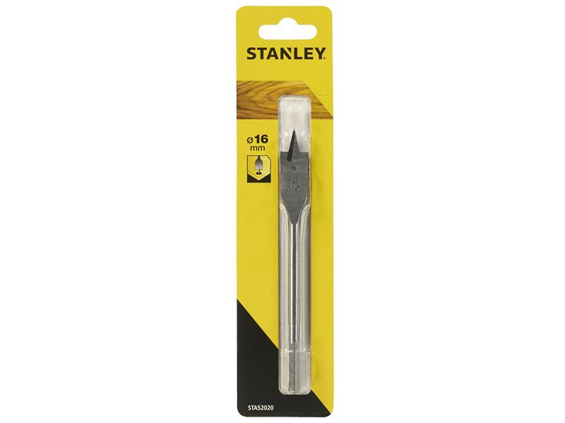 Stanley Tools Flatwood Drill Bit 16Mm 154Mm STA52020-QZ