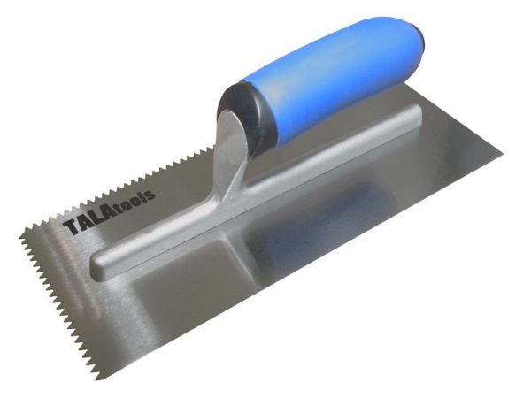 TALAtools V-Notch Trowel 11 x 4.3/4in V NOTCHED