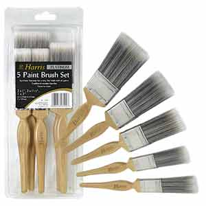 Harris 27190 Propack Popular Brush 5pc Paint Brush